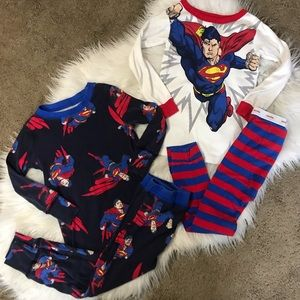 Baby Gap | Super Man Long Sleeve Pajamas